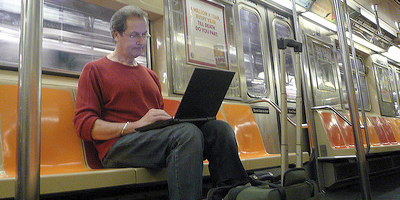 Laptop-train