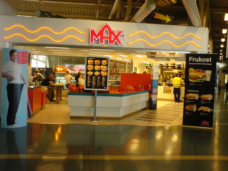 Max på Arlanda
