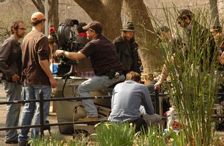 Filminspelning i New York