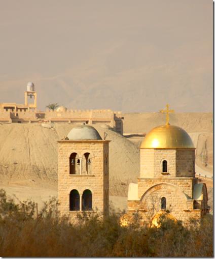 Greskortodoks kirke ved Jordanelven