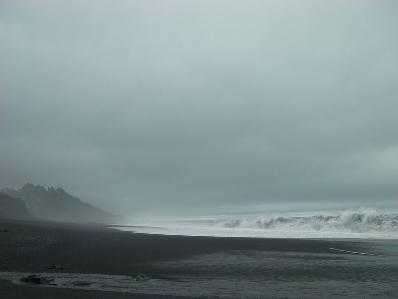 Black Sands Beach, Lost Coast
