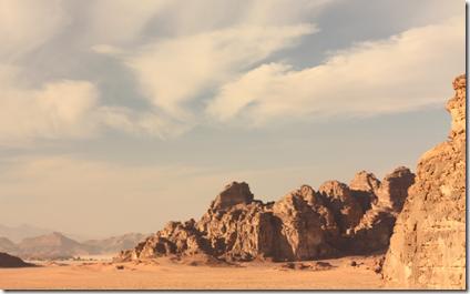 Wadi-Rum ørkenområde